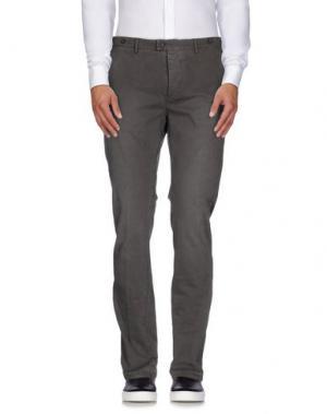 Повседневные брюки JFOUR. Цвет: свинцово-серый