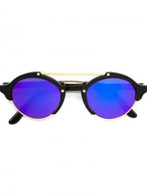 Солнцезащитные очки Illesteva. Цвет: чёрный