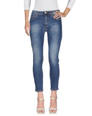 Джинсовые брюки BIANCOGHIACCIO. Цвет: синий