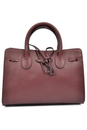 Bag ANNA LUCHINI. Цвет: dark burgundy