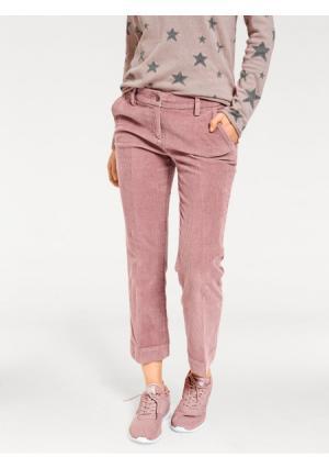 Брюки клеш B.C. BEST CONNECTIONS by Heine. Цвет: джинсовый синий, розовый, серый, экрю