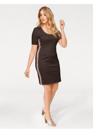 Платье Rick Cardona. Цвет: оливковый