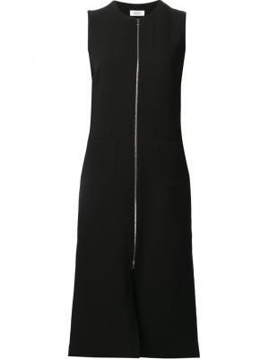 Front zip dress Nomia. Цвет: чёрный