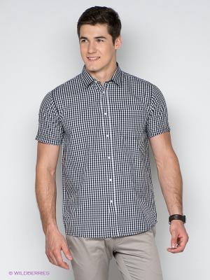 Рубашка TATUUM. Цвет: серый, белый, черный
