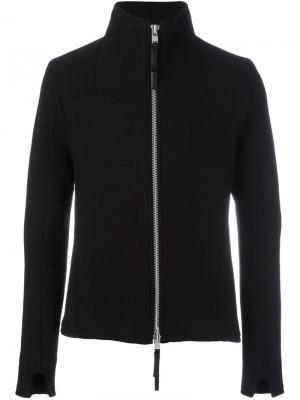 Куртка на молнии Thom Krom. Цвет: чёрный