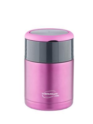 Термос со стальной колбой с ручками для еды TS3506 Purple, 800ml ThermoСafe by THERMOS. Цвет: темно-фиолетовый