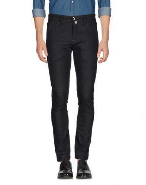 Повседневные брюки FRADI. Цвет: стальной серый