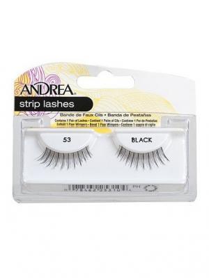 Andrea 25310 Mod Strip Lashes 53 Накладные ресницы Andrea.. Цвет: черный