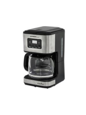 Кофеварка FA-5459-4Black FIRST. Цвет: черный, серебристый