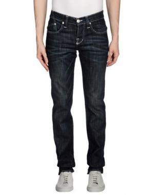Джинсовые брюки ROCK & REPUBLIC. Цвет: синий