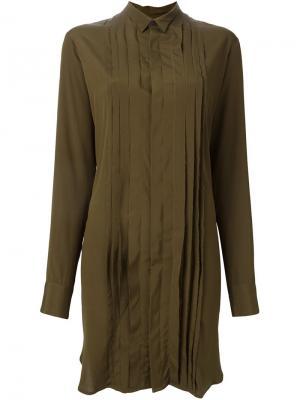 Платье Director A.F.Vandevorst. Цвет: зелёный