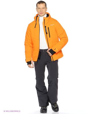 Куртка HALTI. Цвет: оранжевый