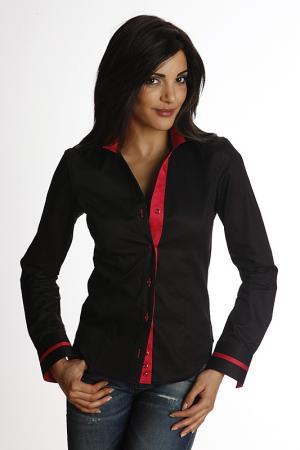 Shirt GAZOIL. Цвет: black and red
