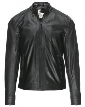 Кожаная куртка  Protector Gnious. Цвет: черный