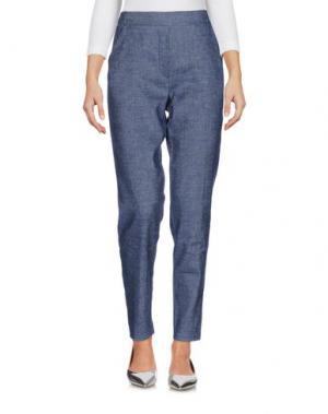Джинсовые брюки E/KOLLINS. Цвет: синий
