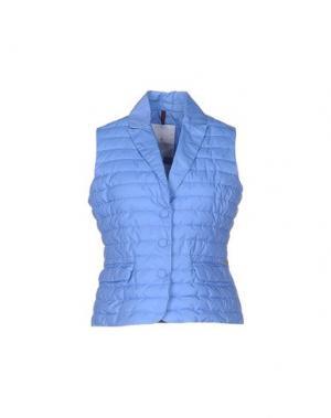 Куртка CONTE OF FLORENCE. Цвет: лазурный