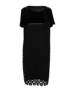 Платье до колена DIDIER PARAKIAN. Цвет: черный