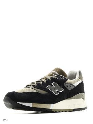 Кроссовки 998 Suede New balance. Цвет: черный