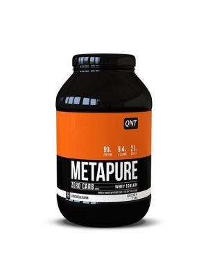 Протеин QNT  Metapure Zero Carb (страчителла) 1 кг. Цвет: черный, белый, оранжевый