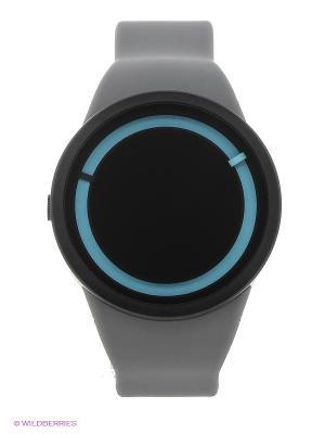 Наручные часы Eclipse Grey Ziiiro. Цвет: темно-серый, голубой