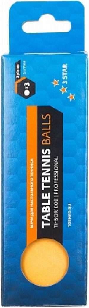Мячи для настольного тенниса , 3 шт. Torneo
