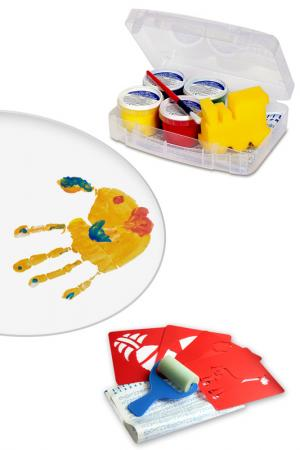 Набор: пальчиковые краски Primo. Цвет: мультицвет