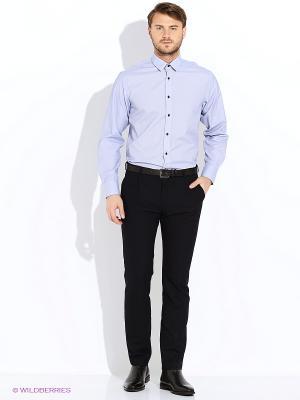 Рубашка Maestro. Цвет: серо-голубой