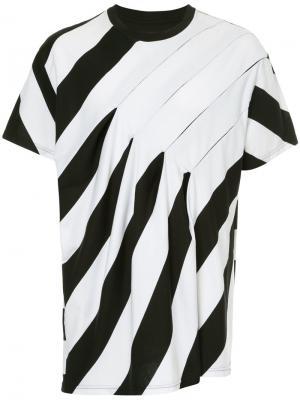 Blind Border T-shirt Yoshiokubo. Цвет: белый