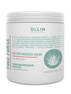 Увлажняющая маска с экстрактом алоэ 250 мл Ollin Professional. Цвет: белый