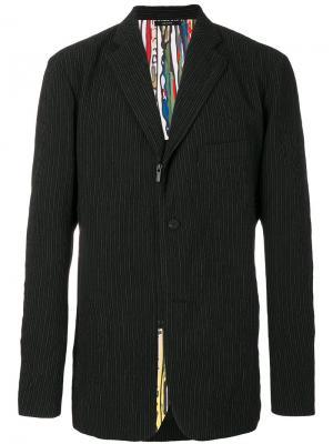Пиджак с застежкой-молнией Issey Miyake. Цвет: чёрный