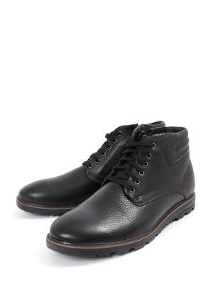 Ботинки Rooman. Цвет: черный