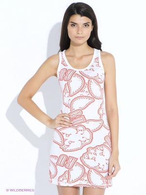Платье SNOBS. Цвет: белый