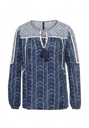 Блуза Pepe Jeans. Цвет: синий