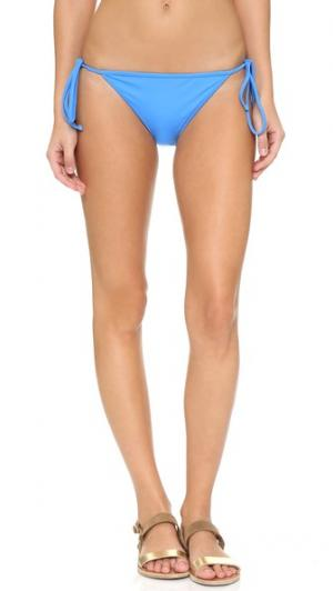 Однотонные плавки бикини Italian Biarritz Milly. Цвет: небесный