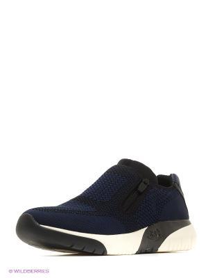 Кроссовки ASH. Цвет: синий, черный