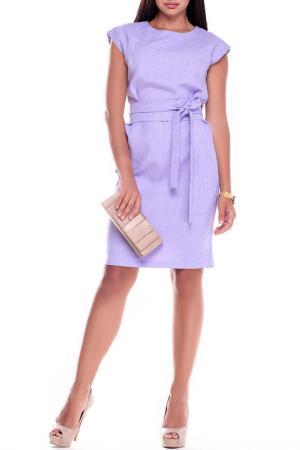Платье Laura Bettini. Цвет: светло-фиолетовый