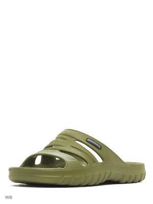 Пантолеты DIADORA. Цвет: зеленый