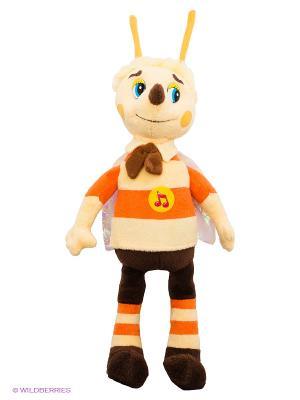 Мягкая игрушка Мульти-пульти пчеленок. Цвет: кремовый, коричневый, оранжевый