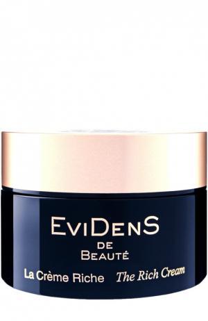 Обогащенный крем для лица EviDenS de Beaute. Цвет: бесцветный