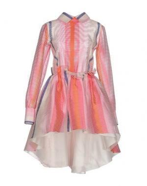 Платье до колена DAIZY SHELY. Цвет: розовый