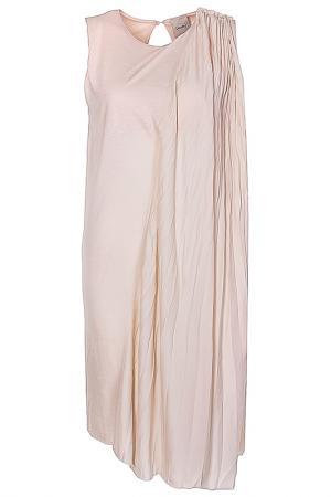 Платье Nude. Цвет: бежевый