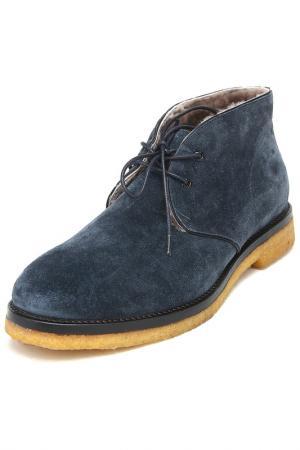 Ботинки Alba. Цвет: синий