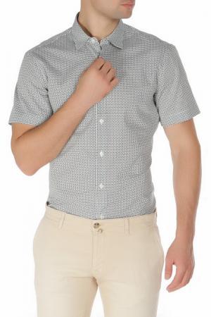 Рубашка Z Zegna. Цвет: белый, черный