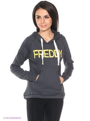 Худи Freddy. Цвет: темно-серый