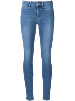 Джинсы кроя скинни Mih Jeans. Цвет: синий