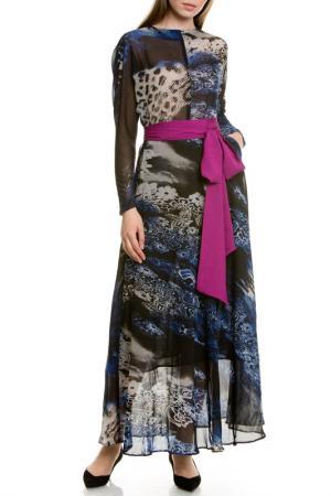 Платье LeVall. Цвет: синий