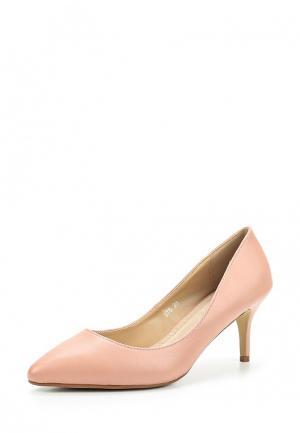 Туфли BelleWomen. Цвет: розовый