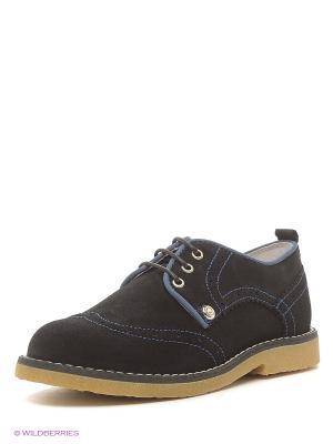 Туфли ELEGAMI. Цвет: синий, черный