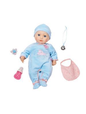 Кукла-мальчик ZAPF. Цвет: голубой