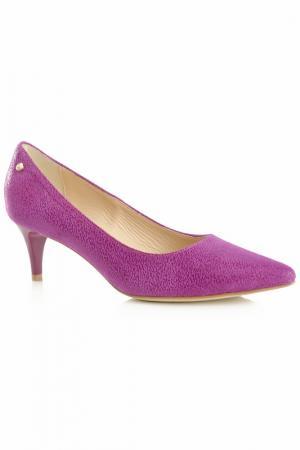 Туфли на каблуке BOSCCOLO. Цвет: розовый